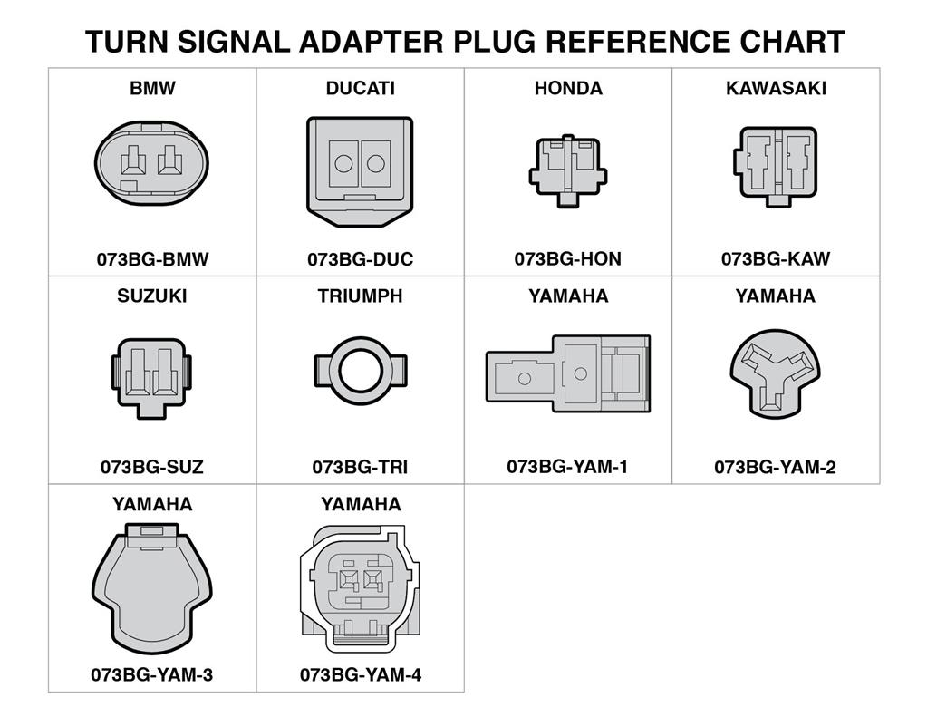HONDA -PLUG-N-PLAY TURN SIGNAL ADAPTERS