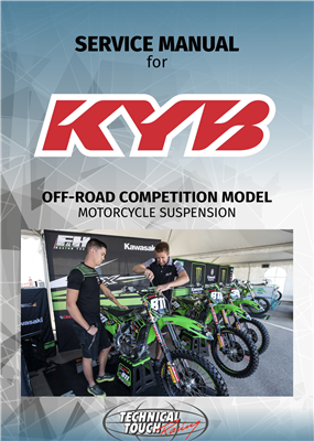 service manual KYB MX English