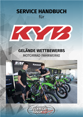 service manual KYB MX Deutsch