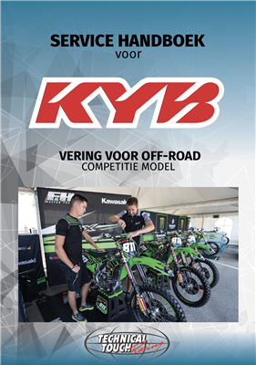 service manual KYB MX Nederlands