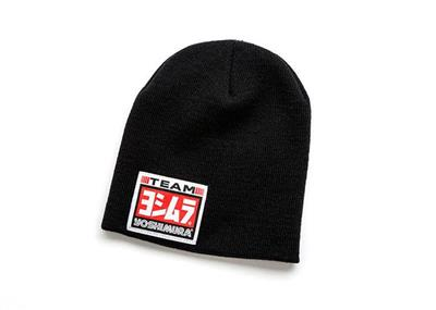 LOGO PATCH BEANIE, BLACK