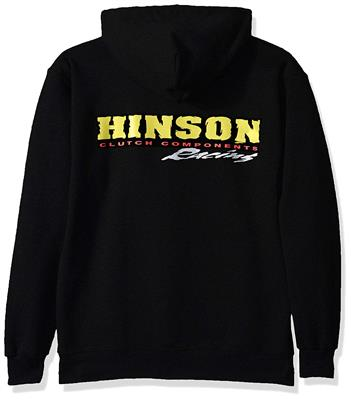 Hinson sweat-shirt HOODED BLACK XXL
