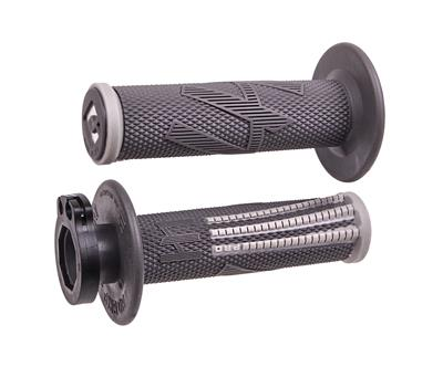 EMIG PRO V2 LOCK-ON GRIPS GRAPHITE/GREY